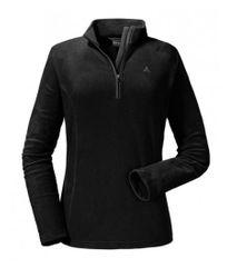 Schöffel Fleece Halfzip Sydney 1 Damen Ski Fleece Pullover schwarz