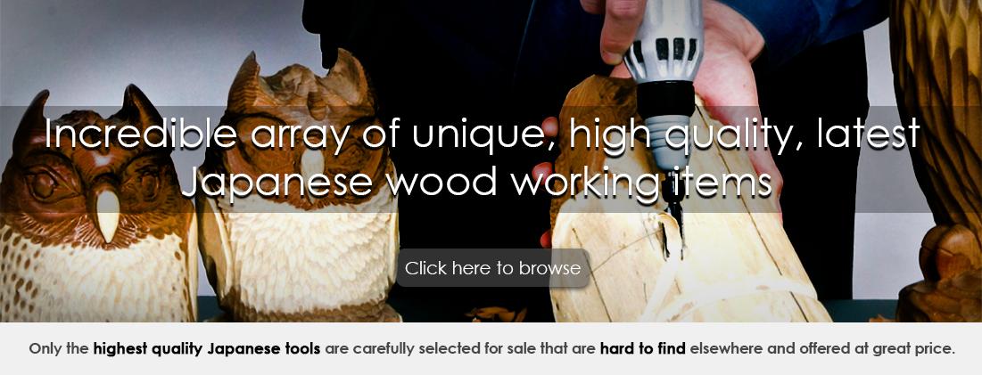 good japan wood working items