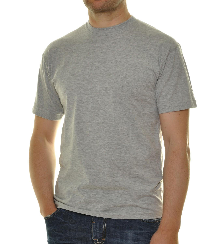 RAGMAN Herren T-Shirt grau Doppelpack Rundhals 40000-012   Smartkauf ... 535f87ccd8