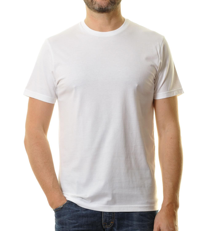 ragman herren t shirt wei doppelpack rundhals 40000 006 t. Black Bedroom Furniture Sets. Home Design Ideas