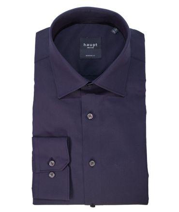 Haupt Herrenhemd 600-7240-03 dunkelblau