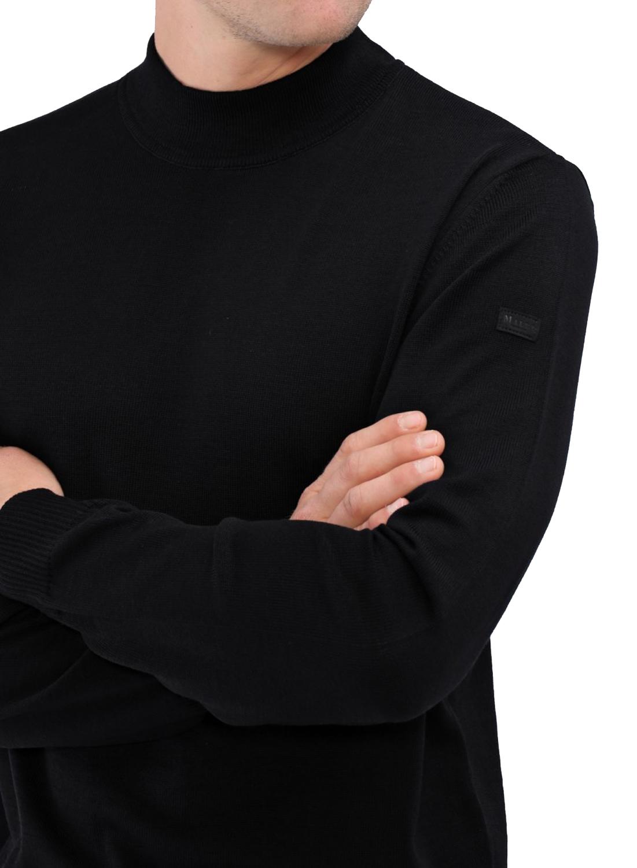 MAERZ Pullover Herren Rollkragen Merino Superwash 490600 440 rot | Smartkauf Herrenmode