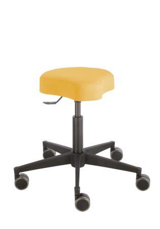 Rollhocker Poppi® ergo DUBLIN 4314, Sitzhöhe ca. 48 - 61 cm, Einhebelauslösung, KS-Fußkreuz, Komfort-Rollen – Bild 9