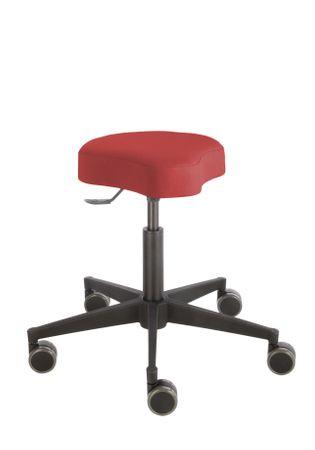 Rollhocker Poppi® ergo DUBLIN 4314, Sitzhöhe ca. 48 - 61 cm, Einhebelauslösung, KS-Fußkreuz, Komfort-Rollen – Bild 10