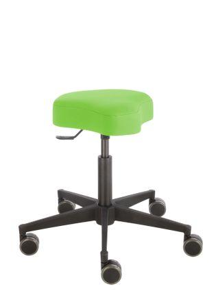 Rollhocker Poppi® ergo DUBLIN 4314, Sitzhöhe ca. 48 - 61 cm, Einhebelauslösung, KS-Fußkreuz, Komfort-Rollen – Bild 13