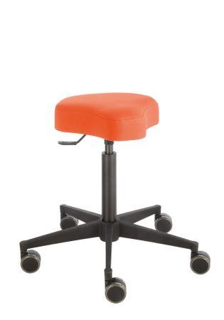 Rollhocker Poppi® ergo DUBLIN 4315, Sitzhöhe ca. 53 - 73 cm, Einhebelauslösung, KS-Fußkreuz, Komfort-Rollen – Bild 8