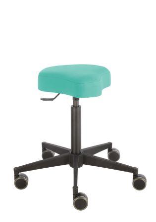 Rollhocker Poppi® ergo DUBLIN 4315, Sitzhöhe ca. 53 - 73 cm, Einhebelauslösung, KS-Fußkreuz, Komfort-Rollen – Bild 10