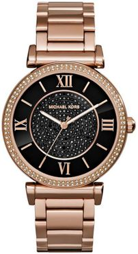 Michael Kors MK3356 Rose Black Diamond