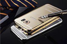 Glamour und LUXUS Samsung S6 Hülle KXX Aluminium Metall Spiegel Bumper
