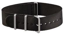 Natoarmband 22mm in schwarz Military Nato Band Nato Uhrenband