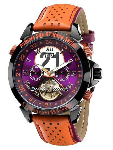 Calvaneo 1583 Astonia Silk Race Limited Racewatch Automatik 001