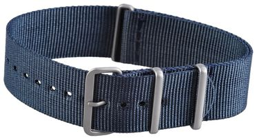 Natoarmband 20mm in blau Military Nato Band Nato Uhrenarmband