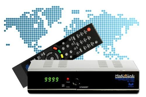 IPTV Medialink Smart Home ML1150 S Black Panther LAN Full HD Sat FTA Receiver IPTV He@d 001