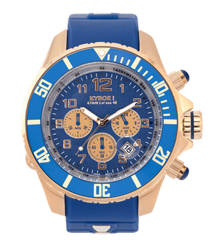 Kyboe Chrono Rose Blue 55mm 48mm 001