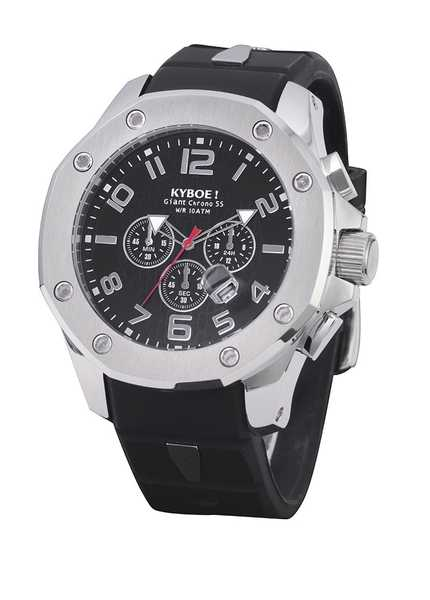 Kyboe Chrono Port Silver Stone 55mm 48mm 001
