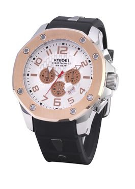 Kyboe Chrono Port Silver Rose 55mm 48mm