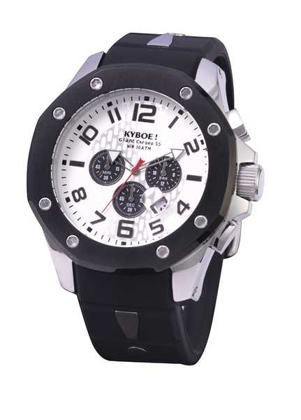 Kyboe Chrono Port Silver Shadow 55mm 48mm