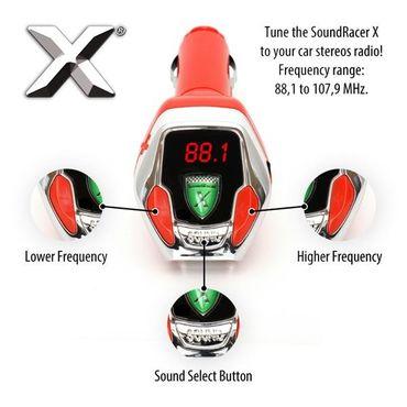 SoundRacer X! NEU mit allen Sportwagen Geräusche V8 V10 V12 Harley Davidson V-Twin Suzuki GSX