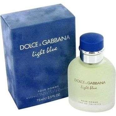 Dolce & Gabbana Light Blue Homme Eau De Toilette Spray - 75ml