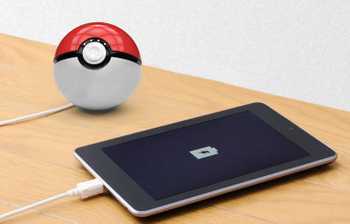 Powerbank 10.000 mAh Pokemon Go Pokeball Dual USB Power Bank Ladegerät