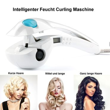 Intelligente Feucht Curling Maschine Professional LCD