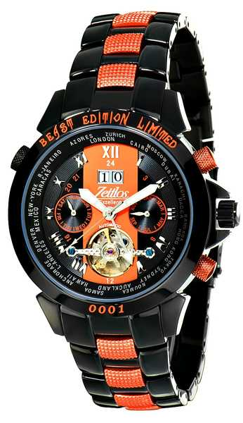 Zeitlos Excellent Beast Limited Edition Orange Reference ZL-EB-10  001