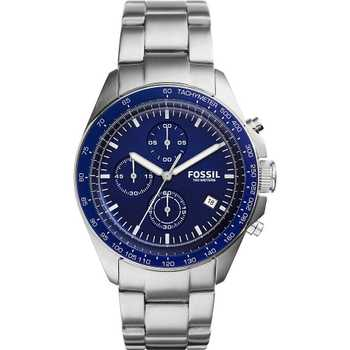 Fossil CH3030 Sport Blue Chrono Steelband