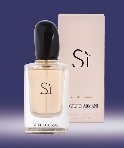 giorgio armani si femme 50ml edp vapo. Black Bedroom Furniture Sets. Home Design Ideas