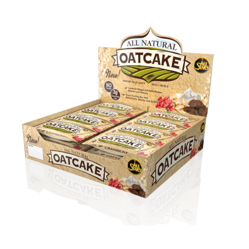 All Stars All Natural Oatcake 24 Riegel Box a 80 g