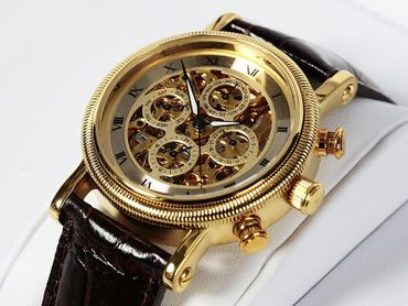 Calvaneo 1583 Squelette (Yellow Gold)