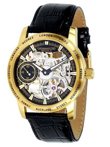 Calvaneo 1583 Squelette II Gold manual winding (mechanical) 001