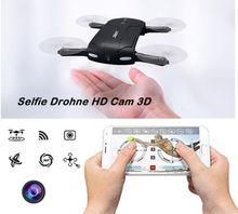 Selfie Drohne HD CAM Faltbar 3D Flip Wifi App Smartphone gesteuert
