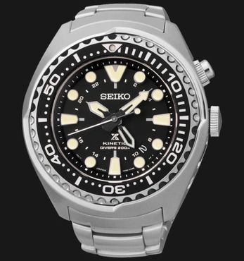 Seiko SUN019P1 Herrenuhr Prospex Kinetic GMT