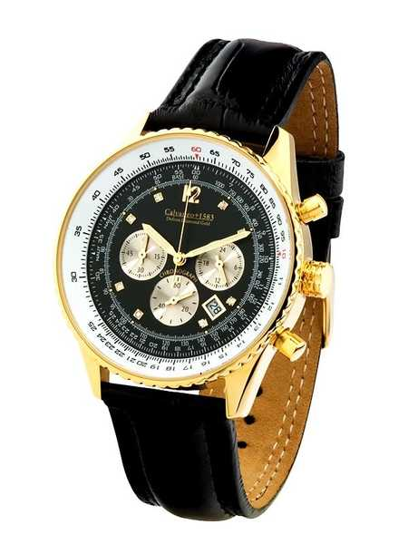 Calvaneo 1583 Defcon Diamond Gold BLACK, (Vergoldet) 001
