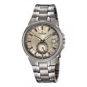 Candino C4604/2 Herrenuhr Klassik Titanium