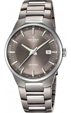 Candino C4605/4 Herrenuhr Classic Titanium