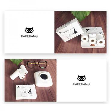 6 Rollen Papier für den Smartphone Drucker Paperang P1