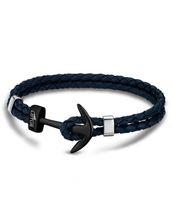 Lotus Style Lederarmband Anker blau LS1832-2/7