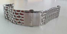 Verchromtes Luxus Stahlband 22 mm Breite