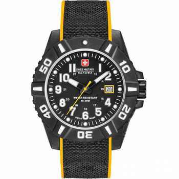 Swiss Military Hanowa Black Carbon 06-4309.17.007.79