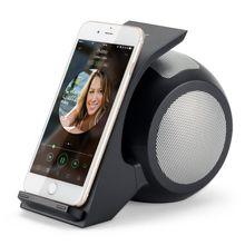 QI Wireless Schnell Ladegerät + Bluetooth Lautsprecher in einem.