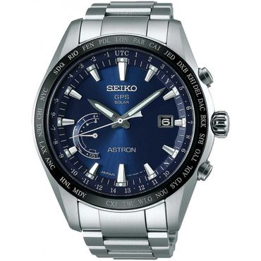 Seiko SSE109J1 Astron GPS Solar World Time