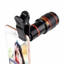 12 x Zoom Smartphone Teleskop Objektiv + Für Tablet
