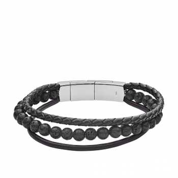 Fossil Vintage Casual JF02886040 Herren Armband