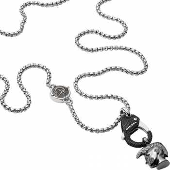Diesel Single Pendant DX1148040 Halskette