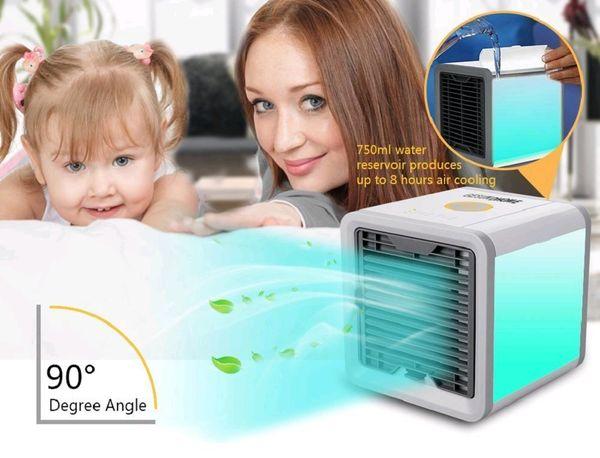 Ausverkauf Mobile Klimaanlage Arctic Air mit 7 verschiedenen LED + Netzteil 001