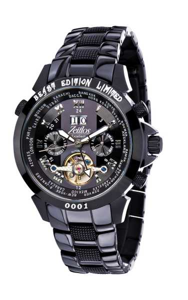Zeitlos Exzellent Beast iP Black Steelband Limited Edition 001
