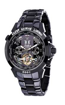 Zeitlos Exzellent Beast iP Black Steelband Limited Edition