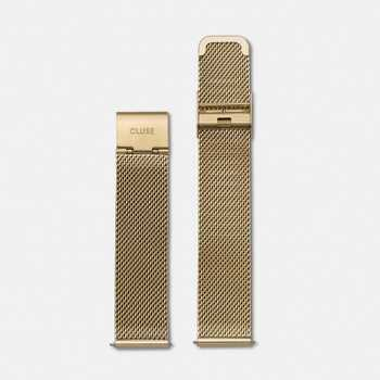 Cluse Strap 18 mm - Mesh Gold CLS046