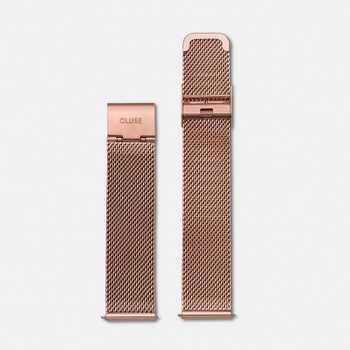 Cluse Strap 18 mm - Mesh Rose Gold CLS047